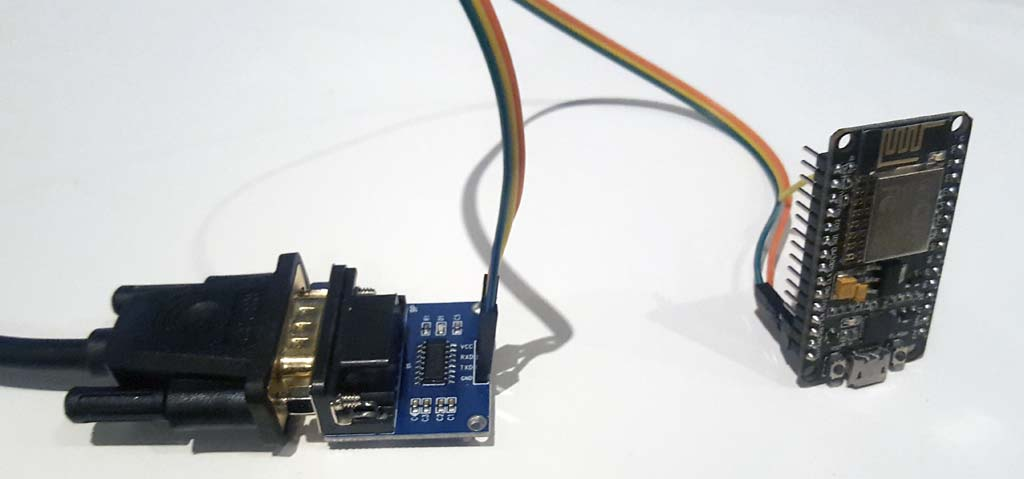 ESP8266 MQTT Serial Projector Remote | stackunderflow